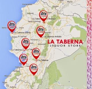 Encuentra tu taberna en ecuador