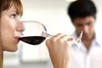 El gusto al catar un vino