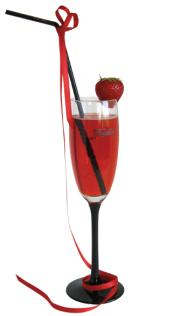preparación cóctel Be My Valentine