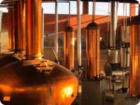 destilación del ron