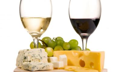 Maridajes de vino y queso