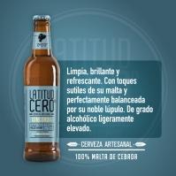 Cerveza Latitud Cero CONCORDIA